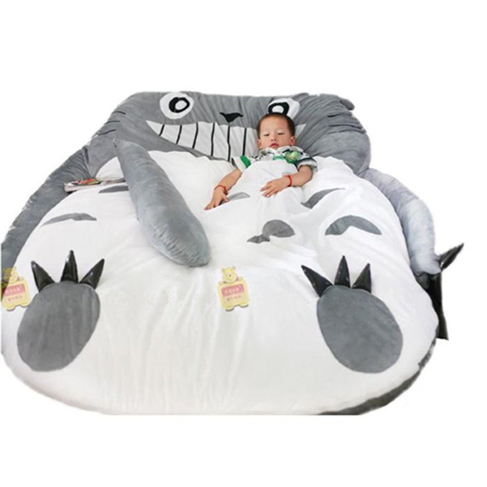 My Neighbor Totoro Sleeping Bag Sofa Bed Twin Bed Double Bed Mattress for Kids by Coosplay