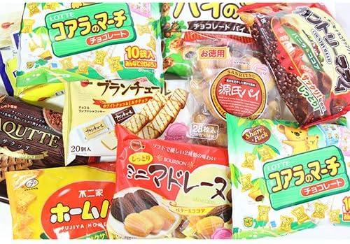 人気のファミリーサイズのお菓子 詰め合わせセット(9種・計10コ)