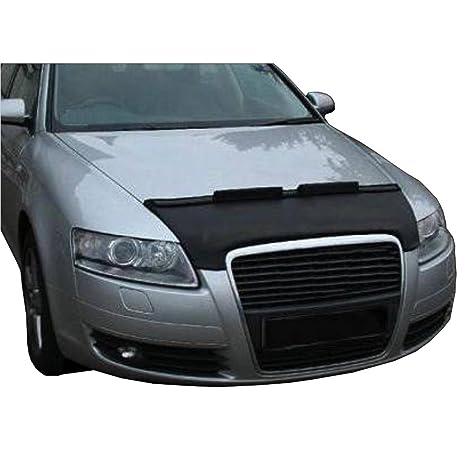 hematron SS35 – Coche capó máscara capucha Auto sujetador de cuero adecuado para Audi A6 4