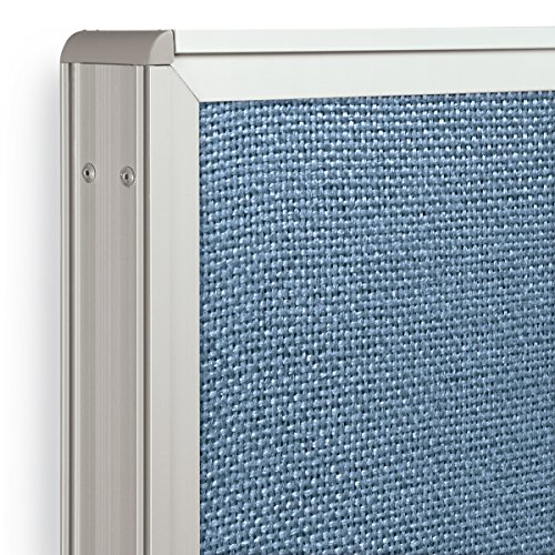 Best-Rite 72 x 36 Inch Standard Modular Divider Panel, Markerboard and Blue Fabric, (66223) by Best-Rite (Image #3)