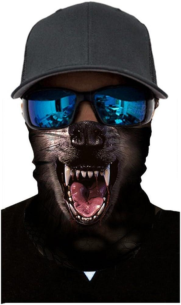 Mundschutz Maske Staub Gesichtsmaske Wiederverwendbare und waschbare Maske Schlauchschal Fashion Unisex Face Masks