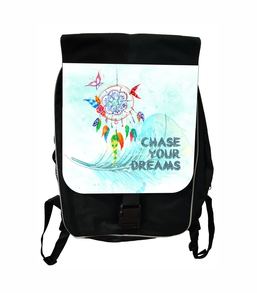 Chase Your Dreams Lea Elliot TM School Backpack and Pencil Case SET