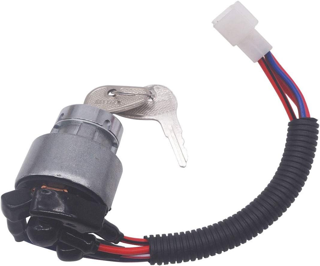Ignition Switch TC020-31820 TC02031820 for Kubota L2501H L3400F L4400F MX5100DT B2150 M6800 M4900 BX2200 B1700E 13750 KX91-3 14150 13010 L2800F L4400F MX5000F