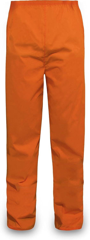 normani Outdoor Sports Regenhose f/ür Damen und Herren wasserdicht 5000 mm f/ür Wandern Gassi gehen Angeln oder Fahrad Fahren Farbe Orange Gr/ö/ße M
