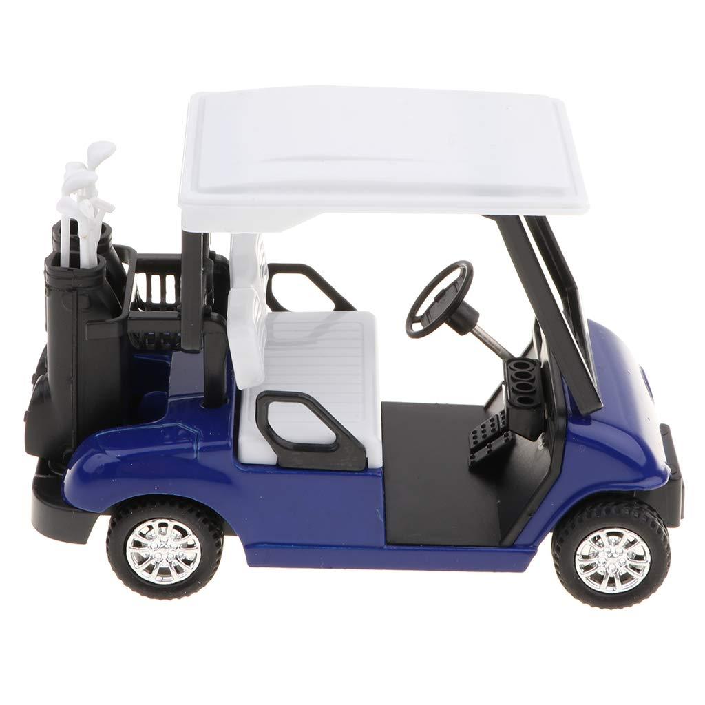 Sharplace 1:20 Mini Carro de Golf de Extracción Aleación con ...