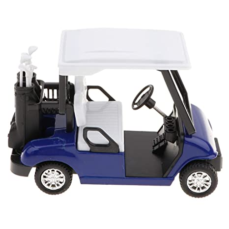 Sharplace 1:20 Mini Carro de Golf de Extracción Aleación con ...