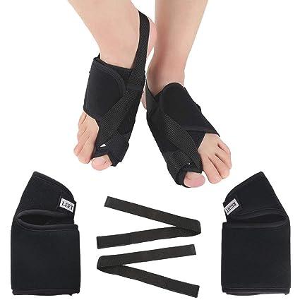 Férulas para juanetes ETSAMOR Corrector de juanete noche de velcro aliviar el dolor corrección de pie