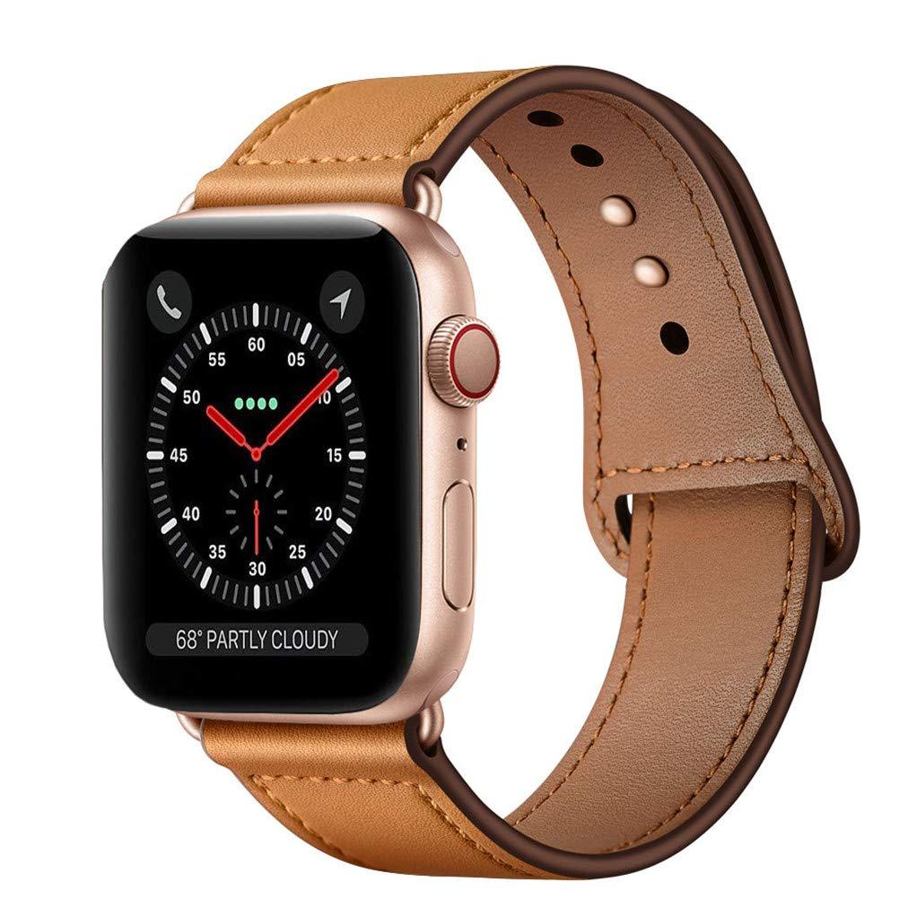 Malla Cuero para Apple Watch (42/44mm) KYISGOS [7XD1D7FW]