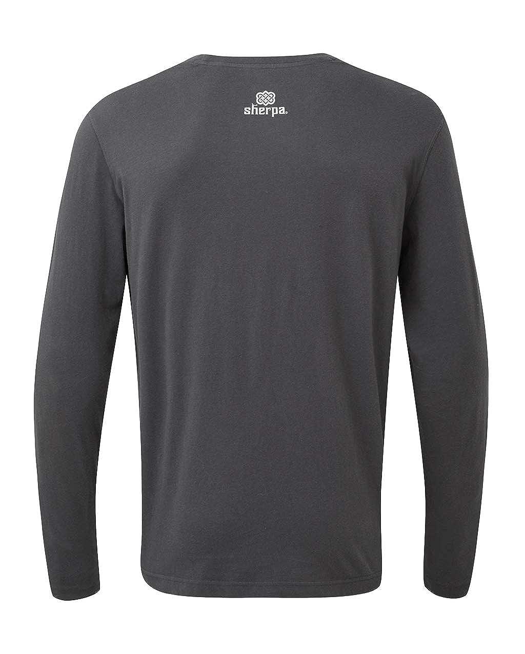 Sherpa Mens Tarcho Long Sleeve Tee Long Sleeve T-Shirt