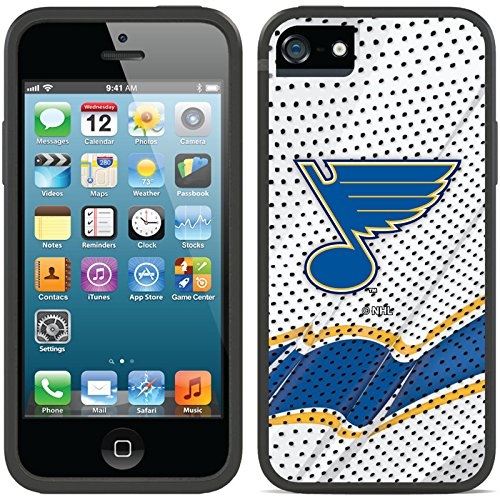 Coveroo iPhone 5/5S Black Switchback Case with St Louis Blues Away Jersey Design