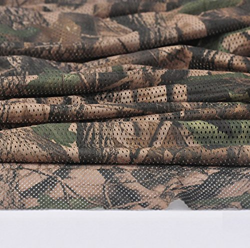 Mossy Oak Camouflage Net Cover Insect Proof net Mesh Fabric Cloth