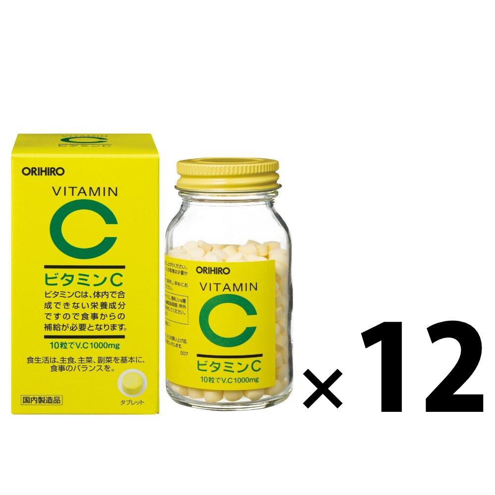 (12点セット)オリヒロ ビタミンC粒 B07CKMLK7B