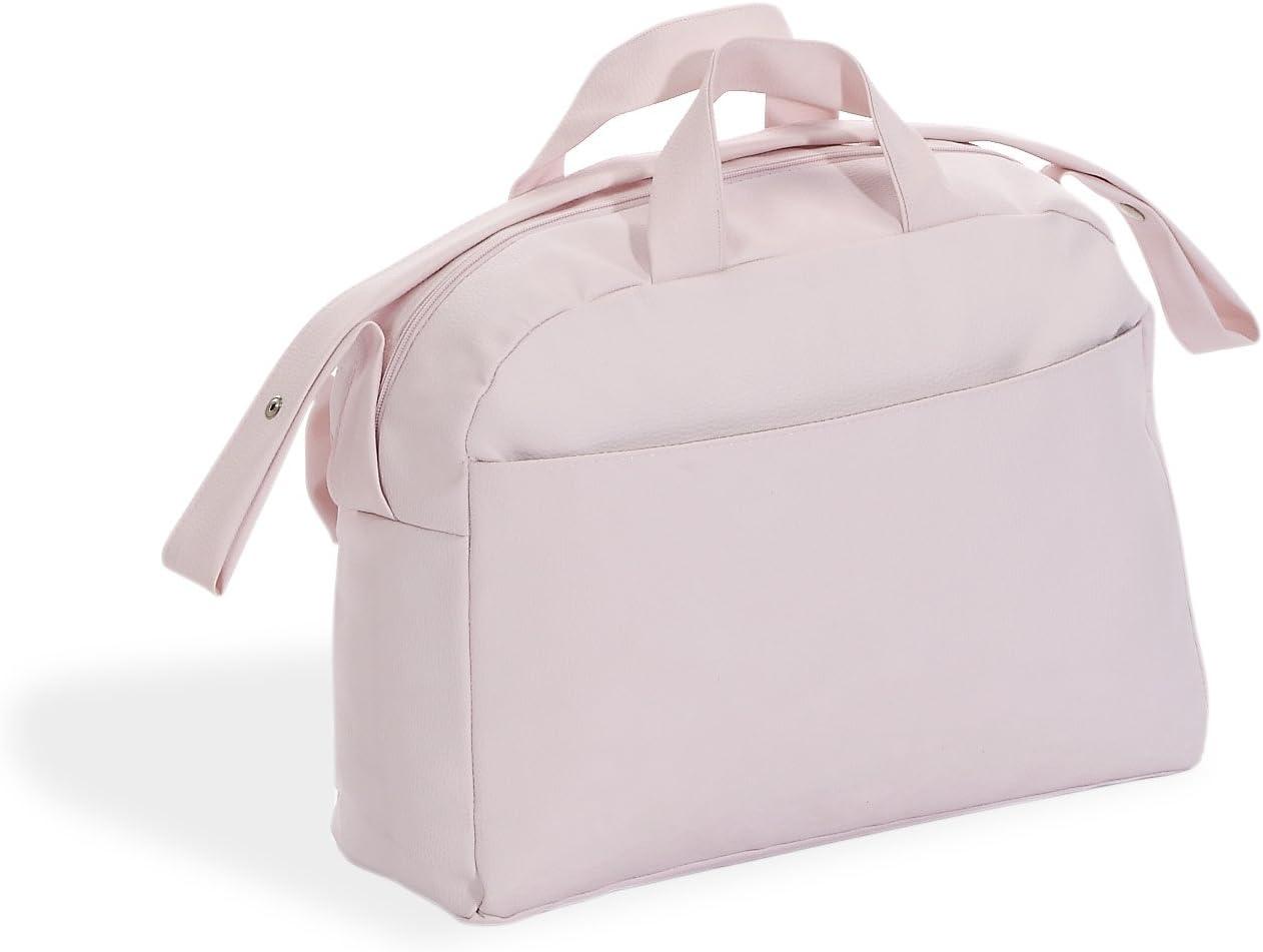 Danielstore-Bolso Polipiel.Color Rosa