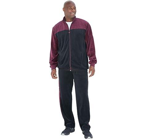 Sweatsedo Mens Velour Tracksuit Black W Yellow Small At Amazon Men S Clothing Store
