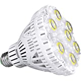 (Updated) SANSI 40W LED Light Bulb, 300-350W Equiv, 5000K Daylight, 5500lm Bright Bulb, Non-Dimmable, CRI 80, E26 to E39…