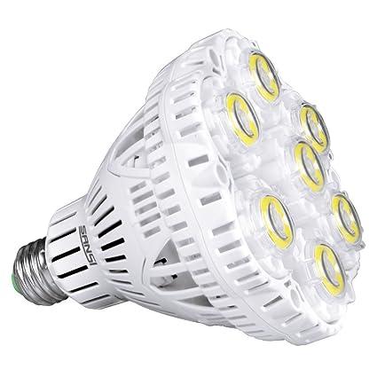 Amazon.com: SANSI - Bombilla LED de 45 W, equivalente a 300 ...