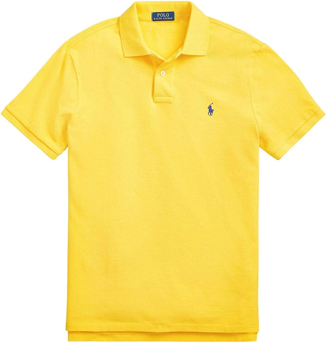 Polo Ralph Lauren Classic Fit Mesh Polo Shirt at  Men's Clothing store