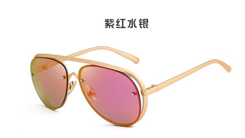 Sucastle Europa und die die die Vereinigten Staaten Mode Sonnenbrille Metall große Box Sonnenbrille Trend Persönlichkeit Brille Metall AC QWERT B071ZRQS64 Sonnenbrillen Kaufen 840e29