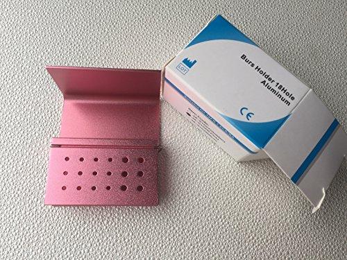 5Pcs Pink color 18 Holes Dental FG RA Bur Burs