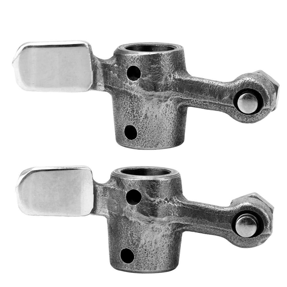 Valve Rocker Arm 2Pcs Iron Cylinder Engine Engine bilanciere per GY6 49cc 50cc 139QMB 139QMA