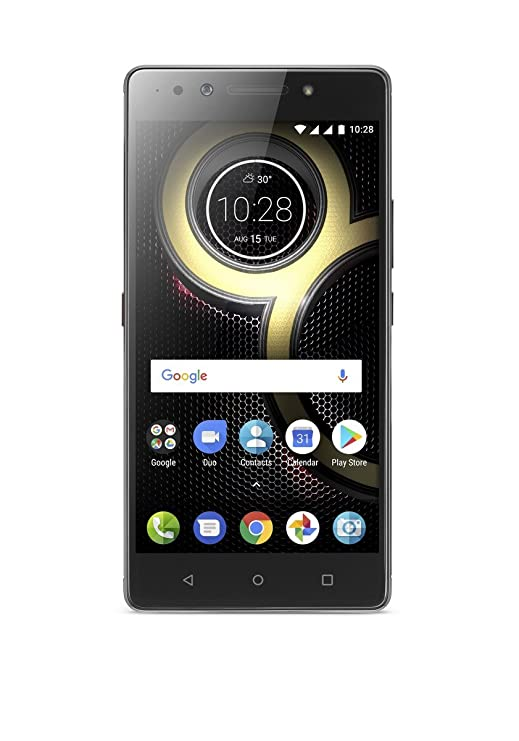 Lenovo K8 Note (Venom Black, 4GB) Smartphones at amazon