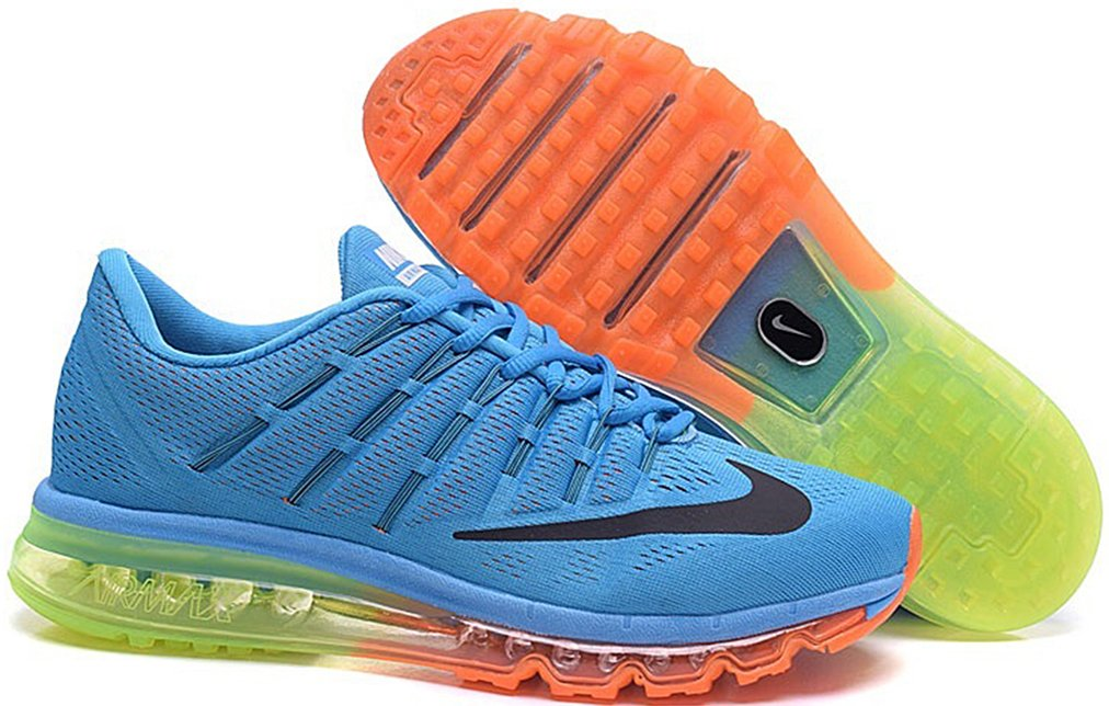 best authentic 82146 a65a6 Amazon.com: &Nike&-Fashion Men's Air Max 2016 Running Shoe Blue-Yellow  (6560560045841): Books