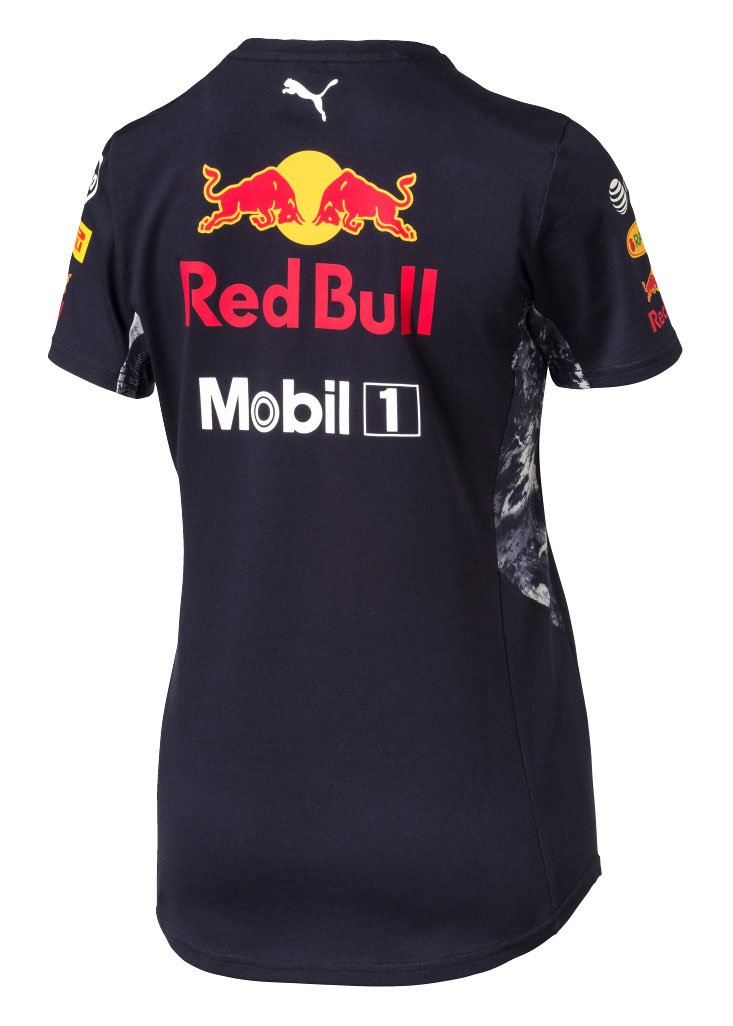 RED BULL RACING WOMENS TEAM TEE - Navy Ladies (XL) UK 16   EU 42   Amazon.co.uk  Sports   Outdoors 622efcad38