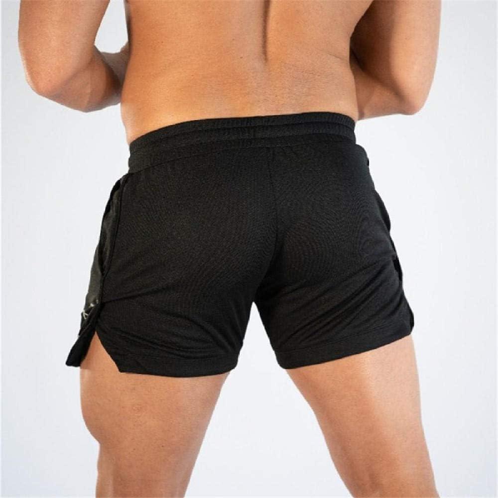 JI 2019 Hommes Fitness Shorts De Musculation Homme /Ét/é Gyms Dentra/înement Homme Maille Respirante /À S/échage Rapide Sportswear Jogger Beach Pantalon Court