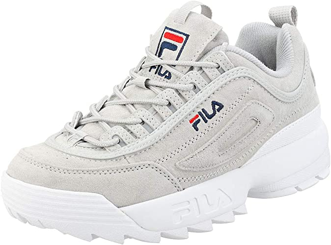 fila trainers disruptor grey