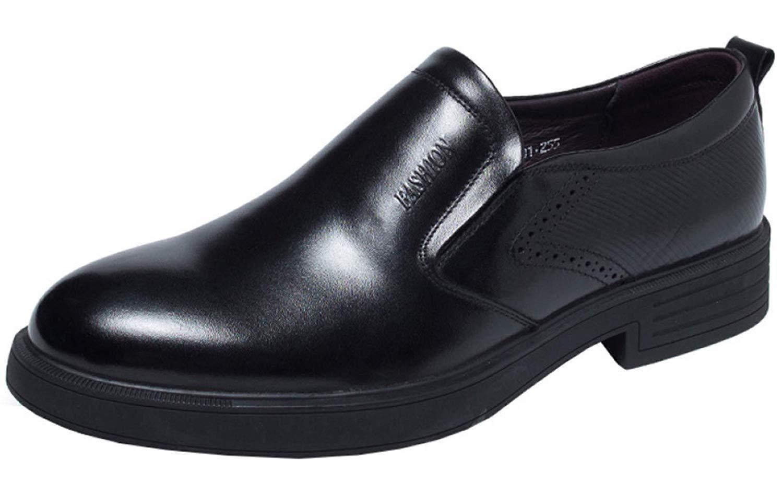 Herren Business-Schuhe Bequeme Und Bequeme Slipper (Farbe   Schwarz, Größe   40EU)  | Tragen-wider