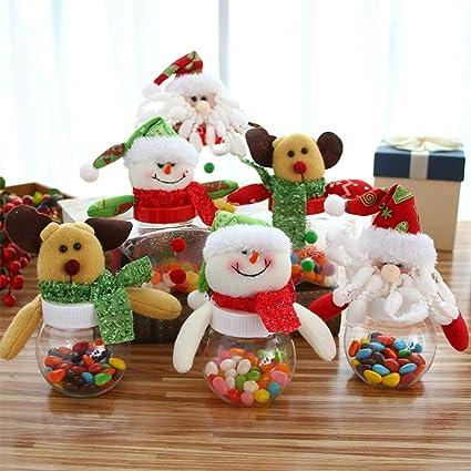 LEORX Patr/ón de mini pinzas madera Nota Memo Clips pinzas Navidad 12pcs