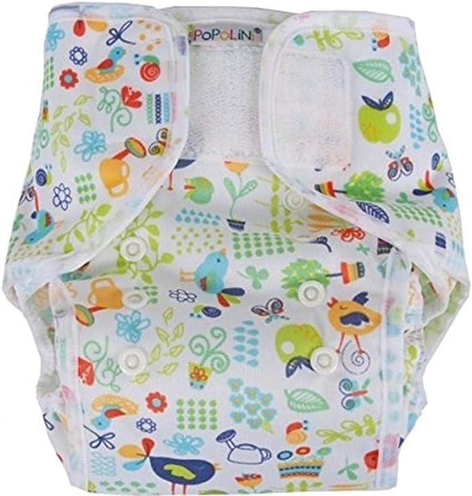 Cobertor de pa/ñal blanco Talla:XL Popolini PopoWrap