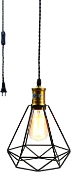 Pauwer Wire Cage Pendant Light