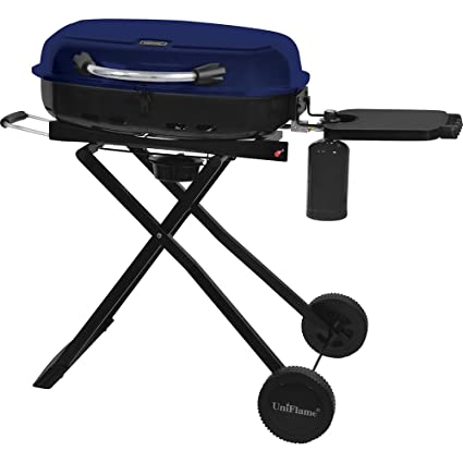 Genial Blue Rhino GTC1205B Uniflame Portable LP Gas Grill 16 Burger Capacity