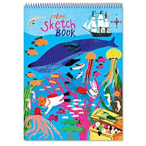 Sketch Book Drawing Pad, In the Sea