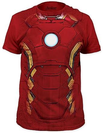 Amazon.com: Iron Man - Suit T-Shirt Size XL: Clothing