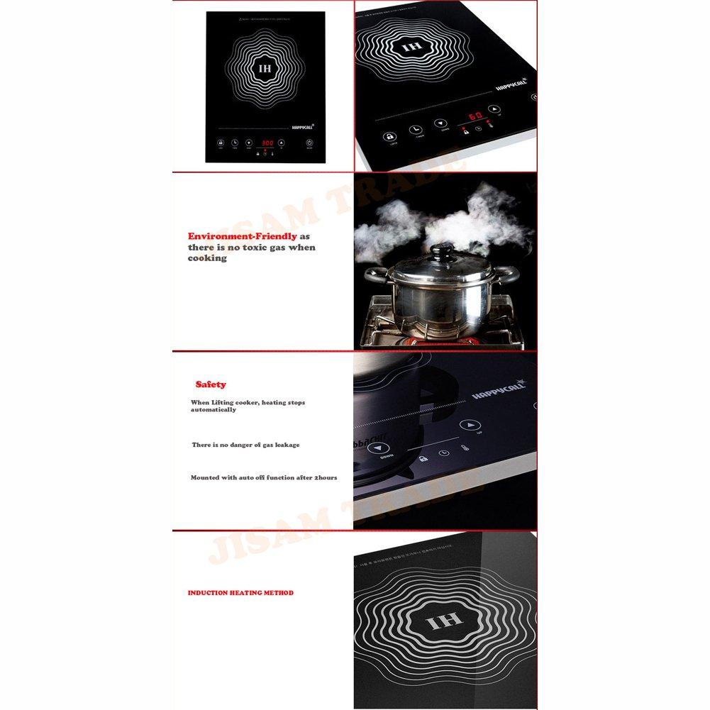 Amazon.com: Happycall IH gama eléctrica Single quemador ...
