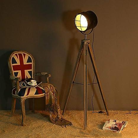 Home Wall Lamp Lámpara De Pie del Trípode del Vintage, Foco ...