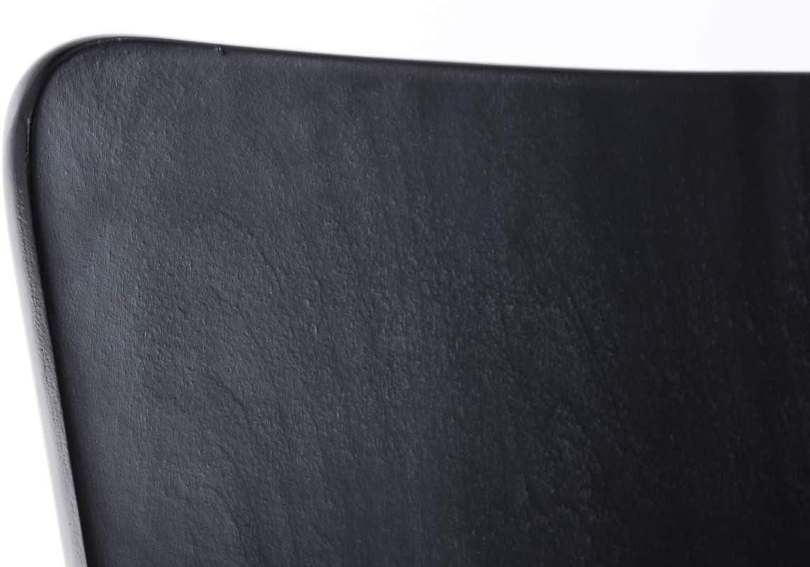 Set 2X Sillas de Visita Aaron I Juego de 2X Silla de Comedor con Asiento de Madera I 2X Silla de Cocina Apilable I Color:, Color:Violeta Negro 2p1DUz