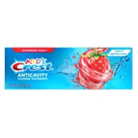 Crest Toothpaste 4.2 Ounce Kids Strawberry Rush (3 Pack)