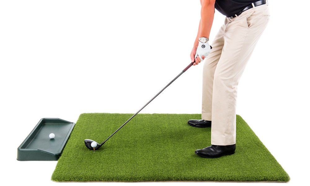 Ultimate Super Tee Golf Mat with Tray - 4 feet x 5 feet