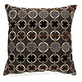 Furniture of America Muzzel 22'' Square Throw Pillow (Set of 2)