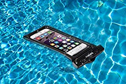[2017 Upgraded Design] Vansky Floatable Waterproof Case Dry Bag With Armband and Audio Jack for iPhone 7 Plus, 7, 6, 6 Plus, 6s,5s,Andriod; Eco-Friendly TPU Construction And IPX8 Certified To 100 Feet