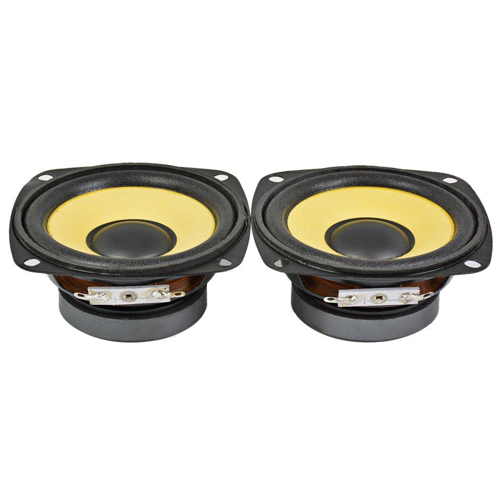 AIYIMA 2Pcs 3Inch Audio Portable Speakers Full Range 4Ohm 10W Speaker Magnetic Multimedia Loudspeaker DIY HIFI Home Theater by AIYIMA (Image #3)