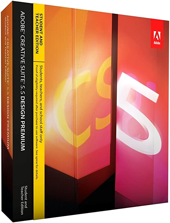 Adobe Creative Suite 5.5 Design Premium Student And Teacher Edition License
