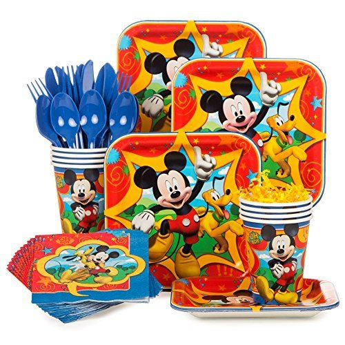 Costume SuperCenter Mickey Mouse Standard Kit (Serves 8) -