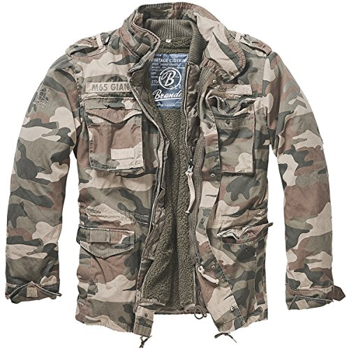 Military Style M-65 Field Jacket - 5