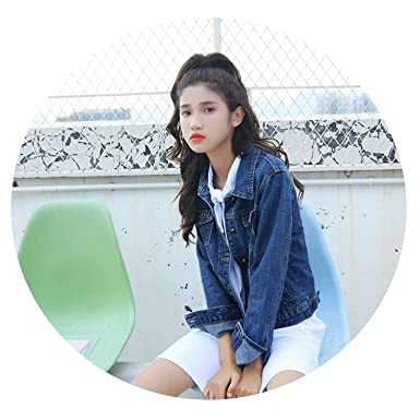 04afb6b41d Surprisedresshatglasses-coat Jeans Jacket Women Spring Autumn Long Sleeve  Denim Jackets Casual Vintage