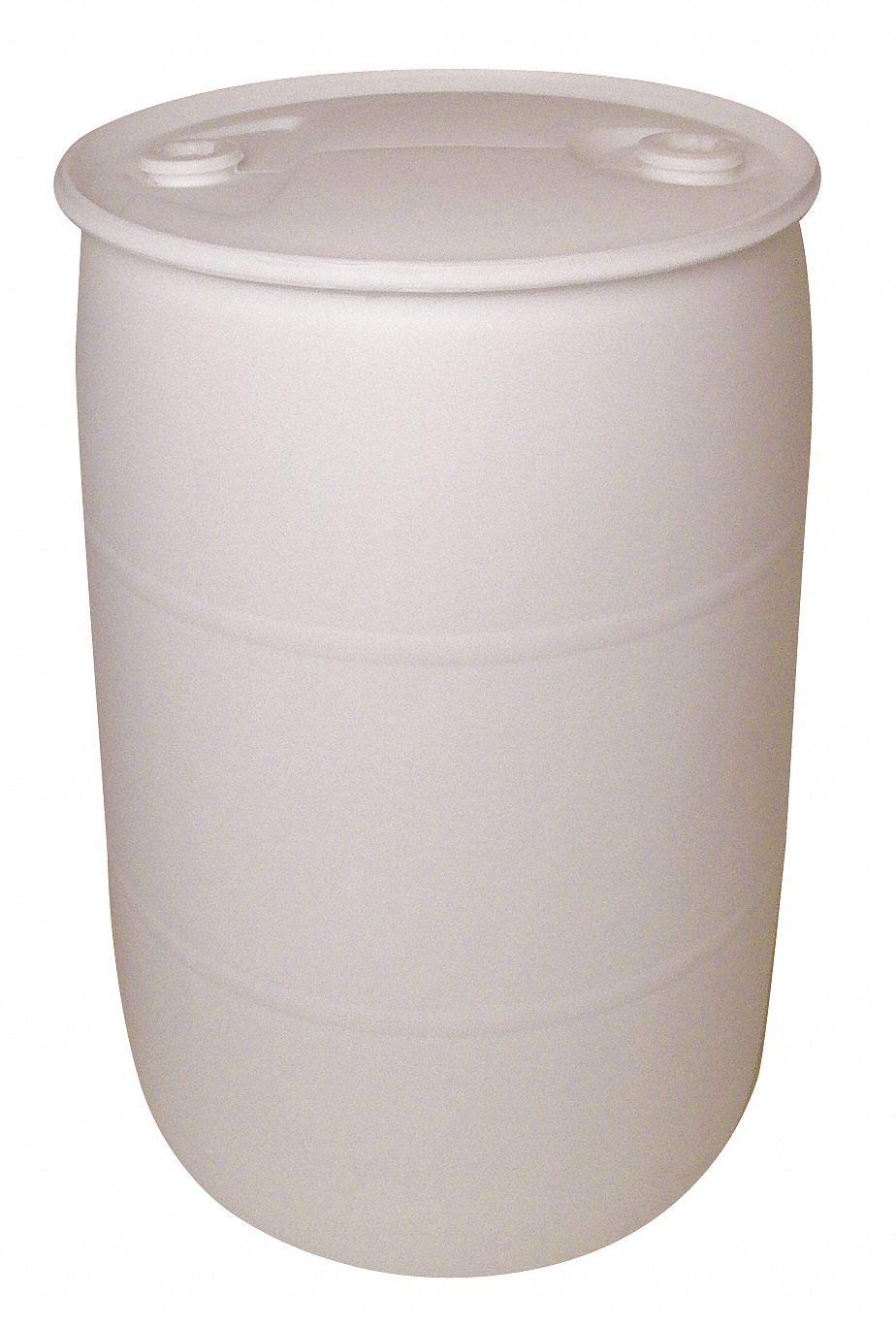Poly Drum, Closed Head, 55 Gal, White