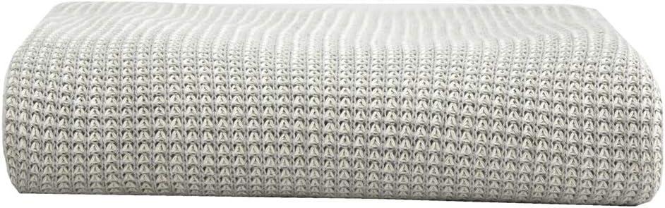 Manta de sofá 100% algodón Manta de tiro de punto Sofá suave Sofá Decoración Manta
